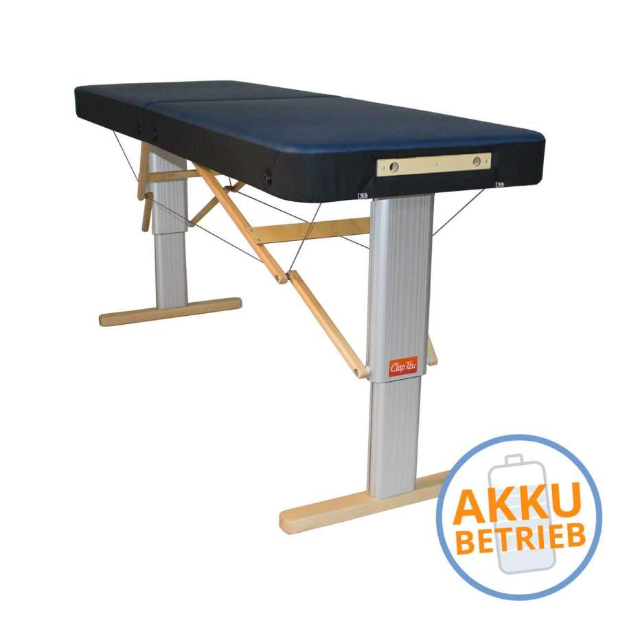 Mobile Massageliege LINEA Sport mit Akku
