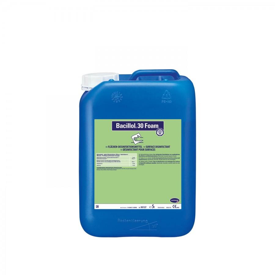 Flächendesinfektionsmittel Bacillol 30 Foam   5000 ml   Sprüh-Applikation mit Schaumsprühkopf