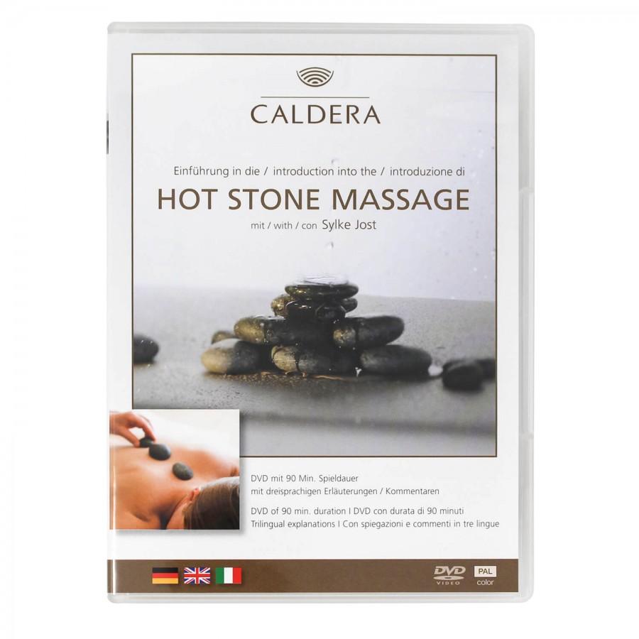DVD Einführung in die Hot Stone Massage - mit Sylke Jost