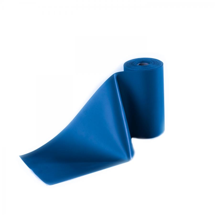 Übungsband latexfrei 2,5 Meter blau / extra stark