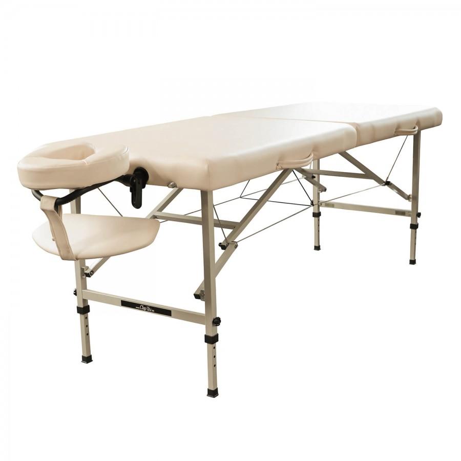 Mobiles Massageliegen-Set TRAVELER | Praxistaugliche und preiswerte Massageliege mit Stahlgestell. | Clap Tzu