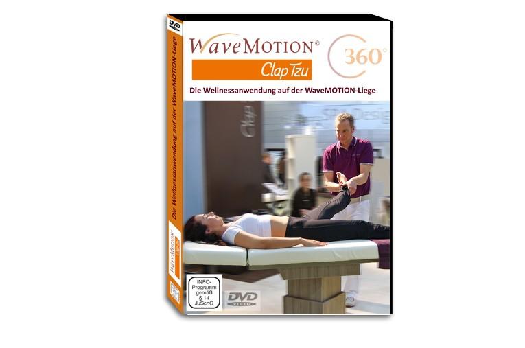 Wellnessanwendung auf der WaveMOTION-Liege - DVD