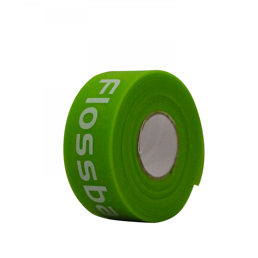 Flossband 2,5 cm Breite | limette | leicht