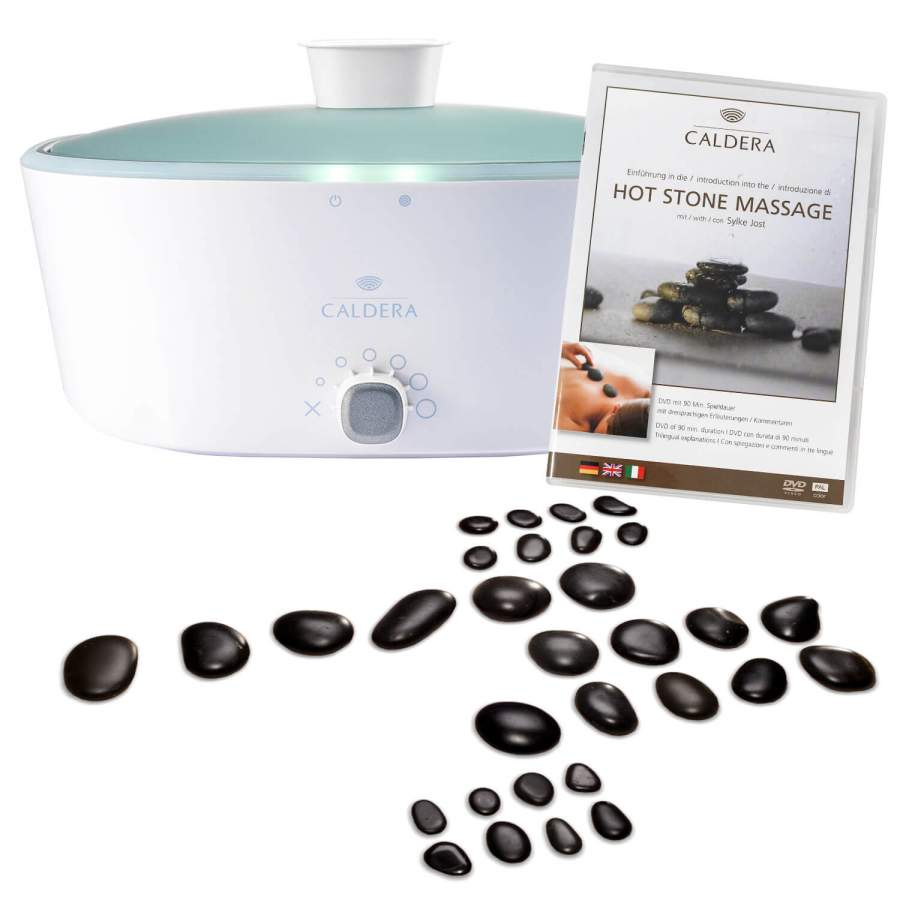 CALDERA Hot Stone Massage Starter Set