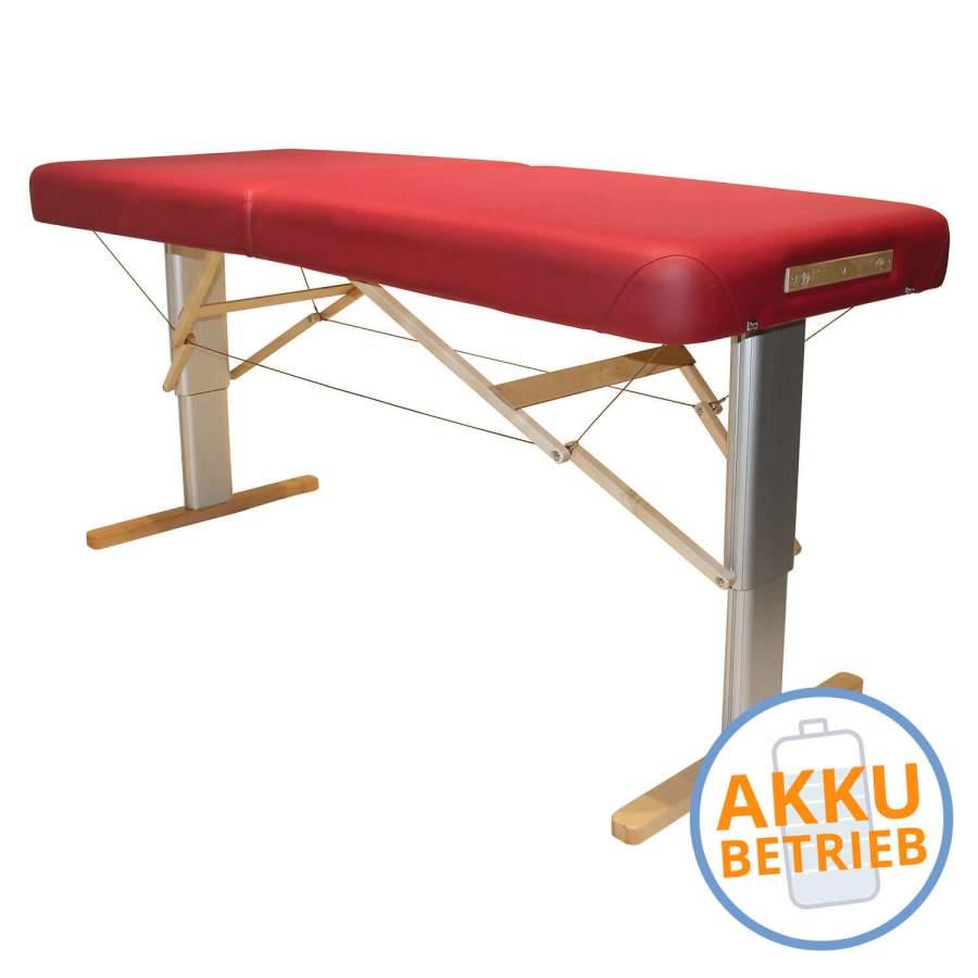 Mobile Massageliege LINEA Wellness mit Akku
