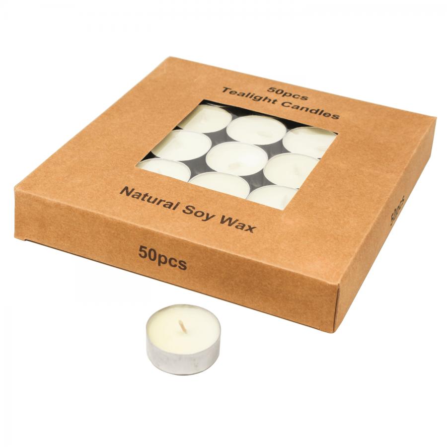 Teelichter mit Sojawachs: für eine heimelige und warme Atmosphäre