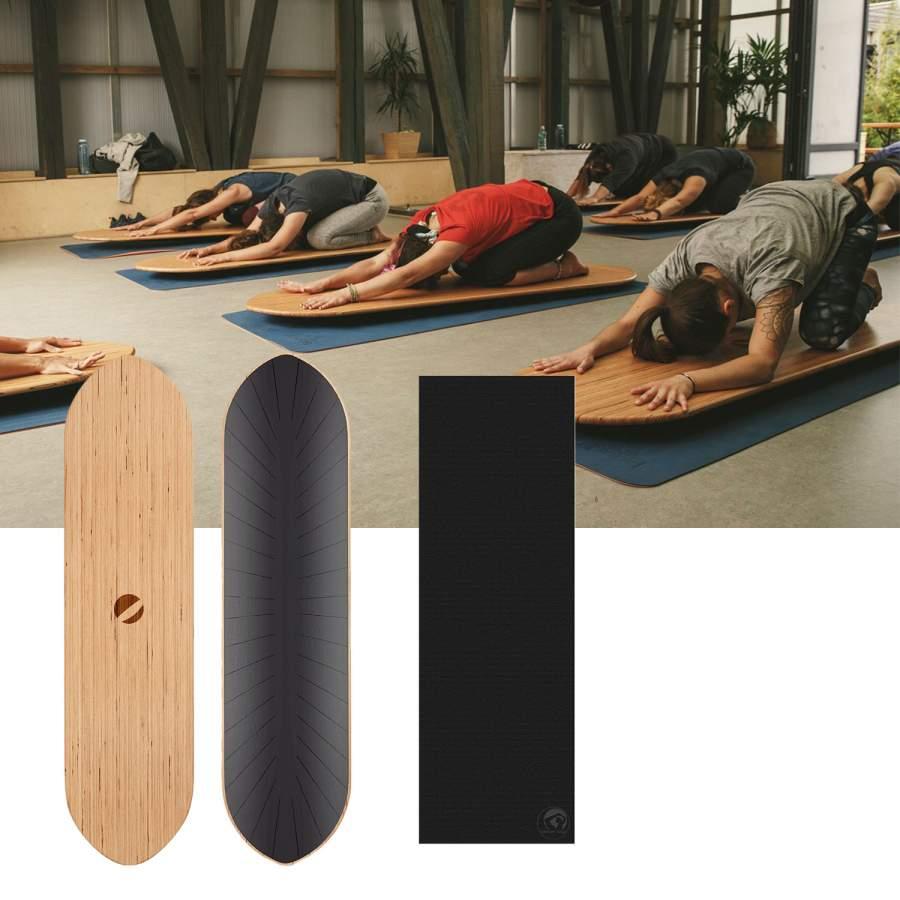 Surf Balance Board + Yogamatte YogaMat gratis
