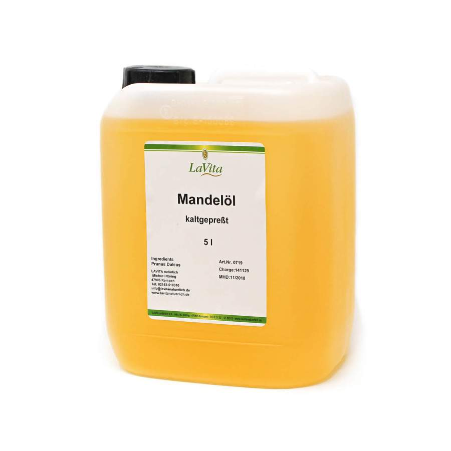 Mandelöl, kaltgepresst | 5 Liter