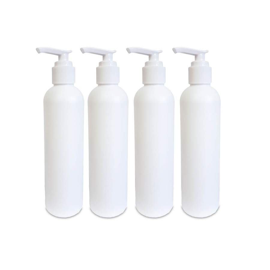 4 praktische Dosierflaschen für Massageöl im Set: Kompatibel zu unseren Massageöl-Erwärmern und Holstern