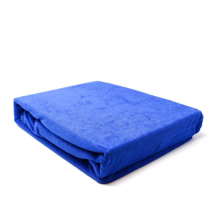 Frotteeüberzug für Massageliegen, blau