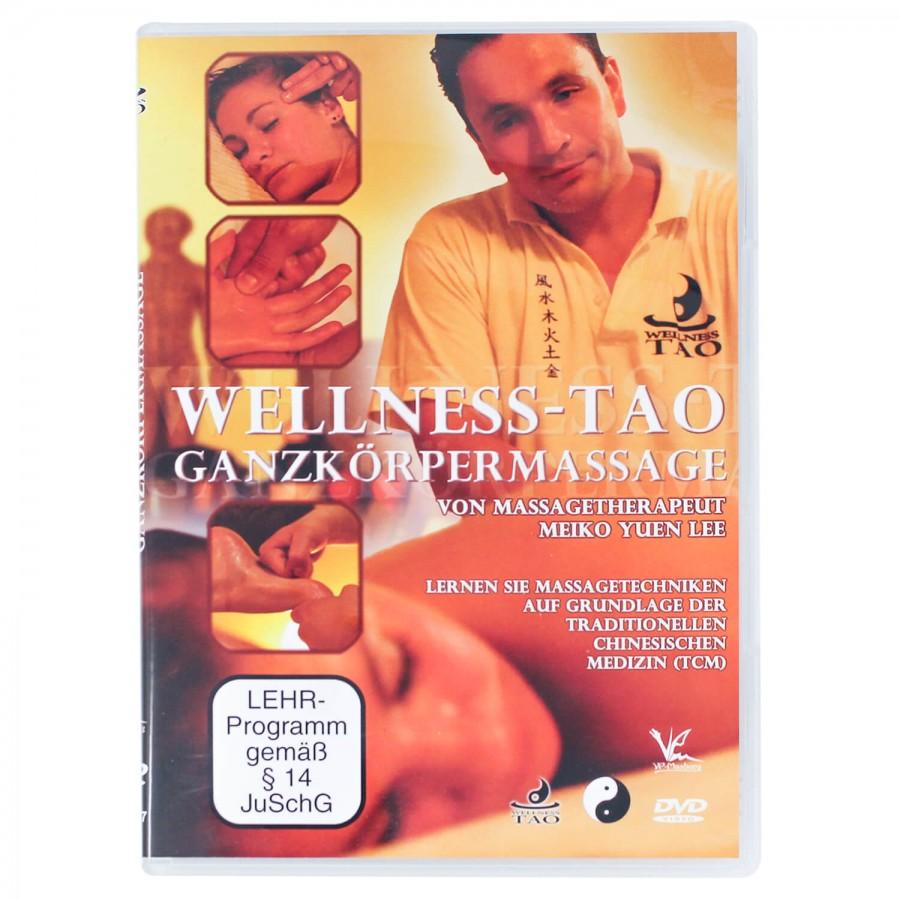 """DVD """"Wellness-Tao-Massage"""" mit Großmeister Meiko Yuen Lee, Entspannungspädagoge, Wellnessmasseur und Kampfsportler"""