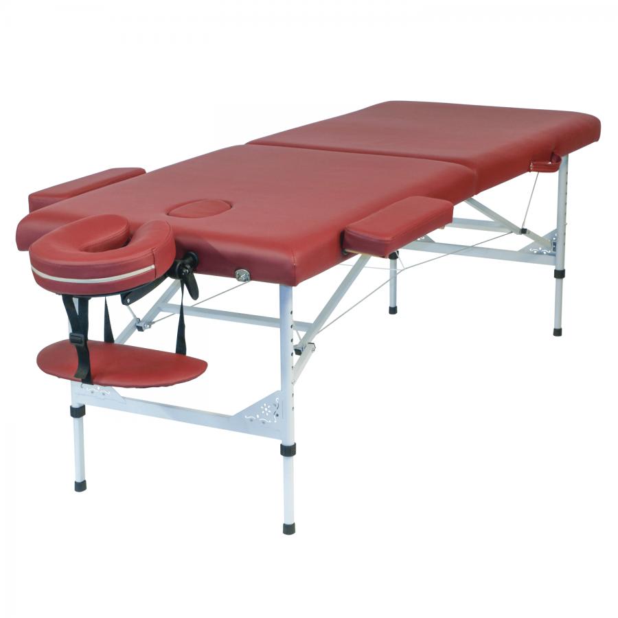 Mobiles Massageliegen-Set TRAVELER light | Massageliege mit Aluminiumgestell | Clap Tzu