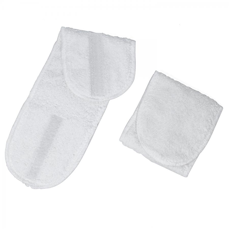 Hot Stone Fuß-Bandage : Fixieren Sie Hot Stone Massagesteine unter der Fußsohle