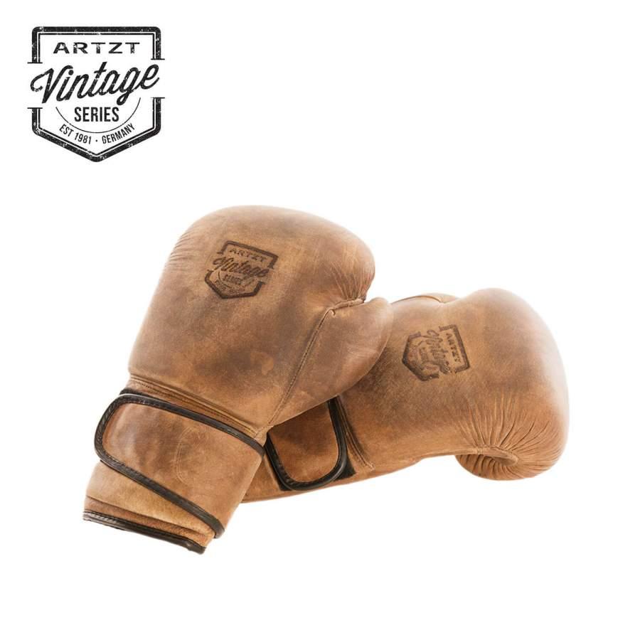 Hochwertige Boxhandschuhe aus veredeltem Rindsleder | Artzt Vintage Serie
