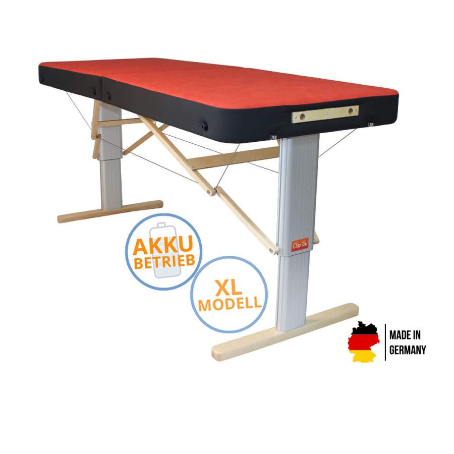 Mobile Massageliege LINEA Sport XL mit Akku