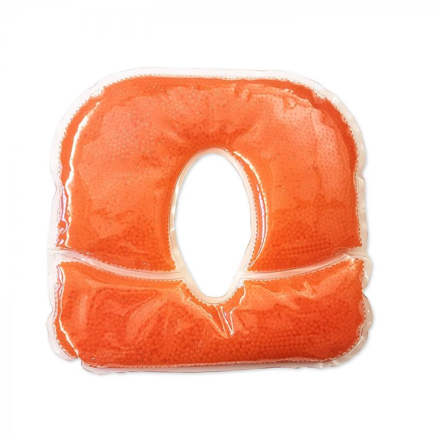 Lagerungshilfe Gelkissen Pro Perle orange für Kopfstützen