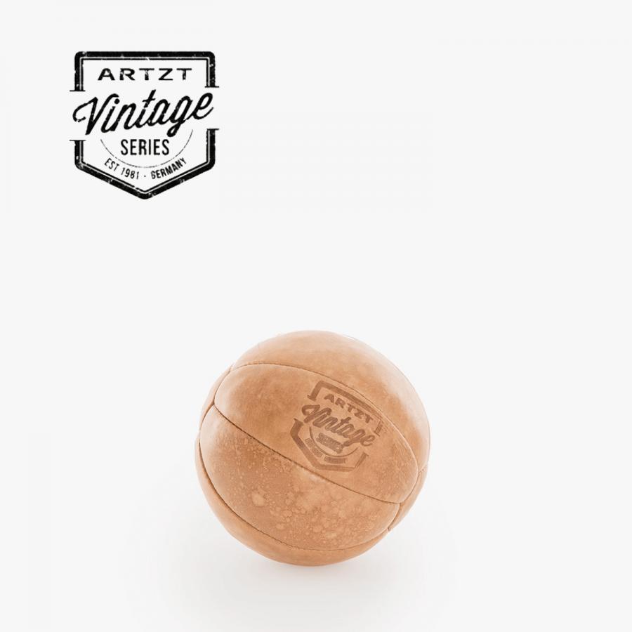 1 Kilogramm - Medizinbälle in trendigem Vintage-Look - Hochwertig verarbeitetes Rindsleder   Clap Tzu