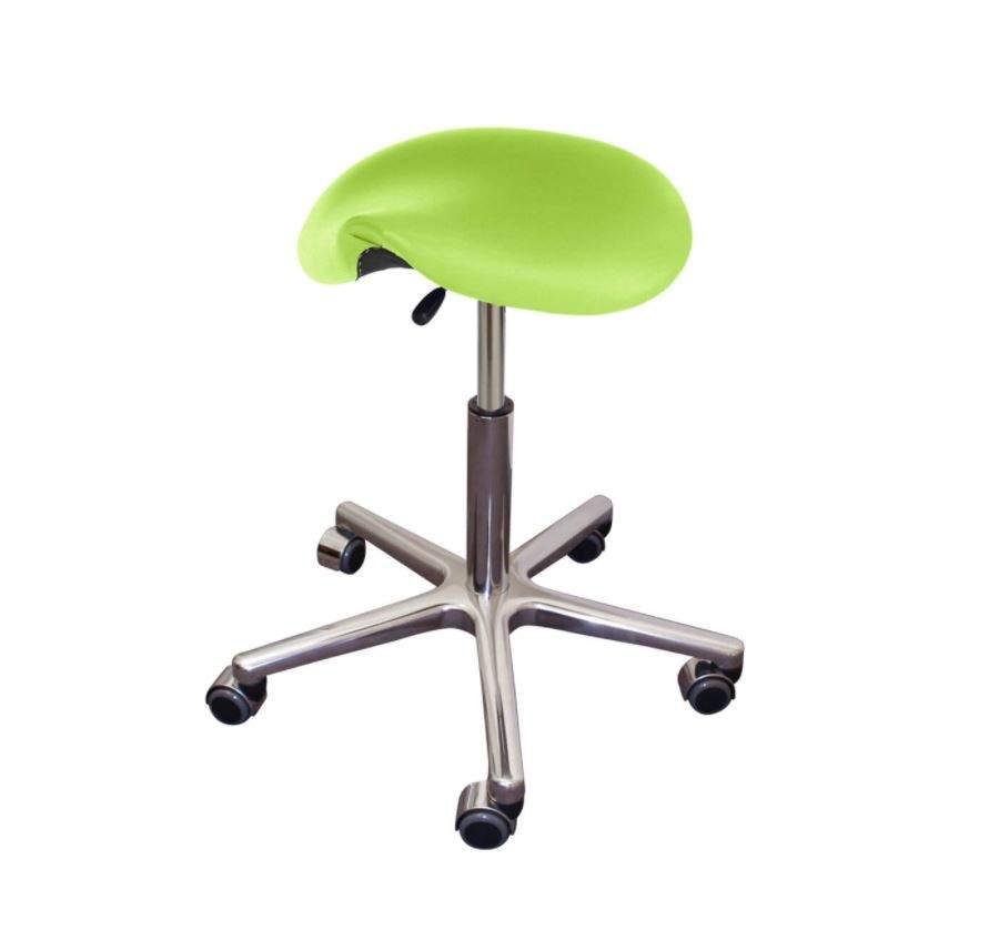 Rollhocker MedSit Sattelsitz, PISA-apfelgrün