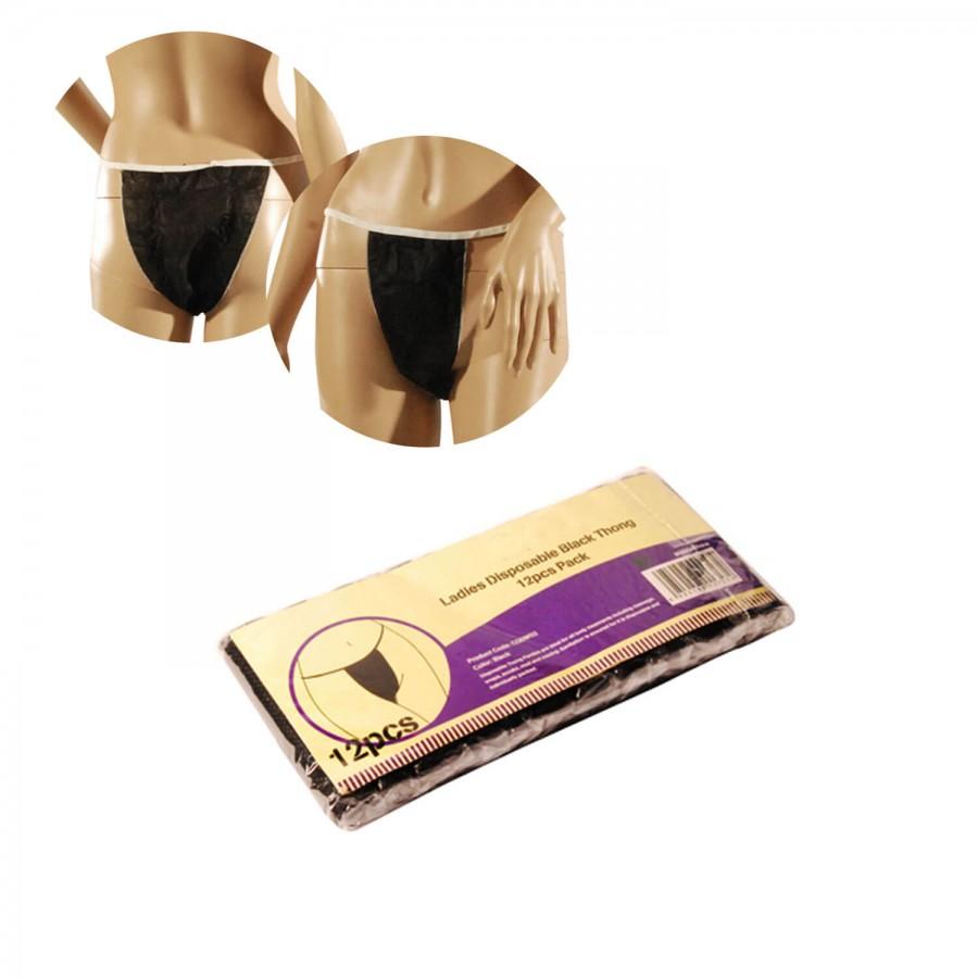 Einweg-Slips für Frauen | Paket mit 12 Stück