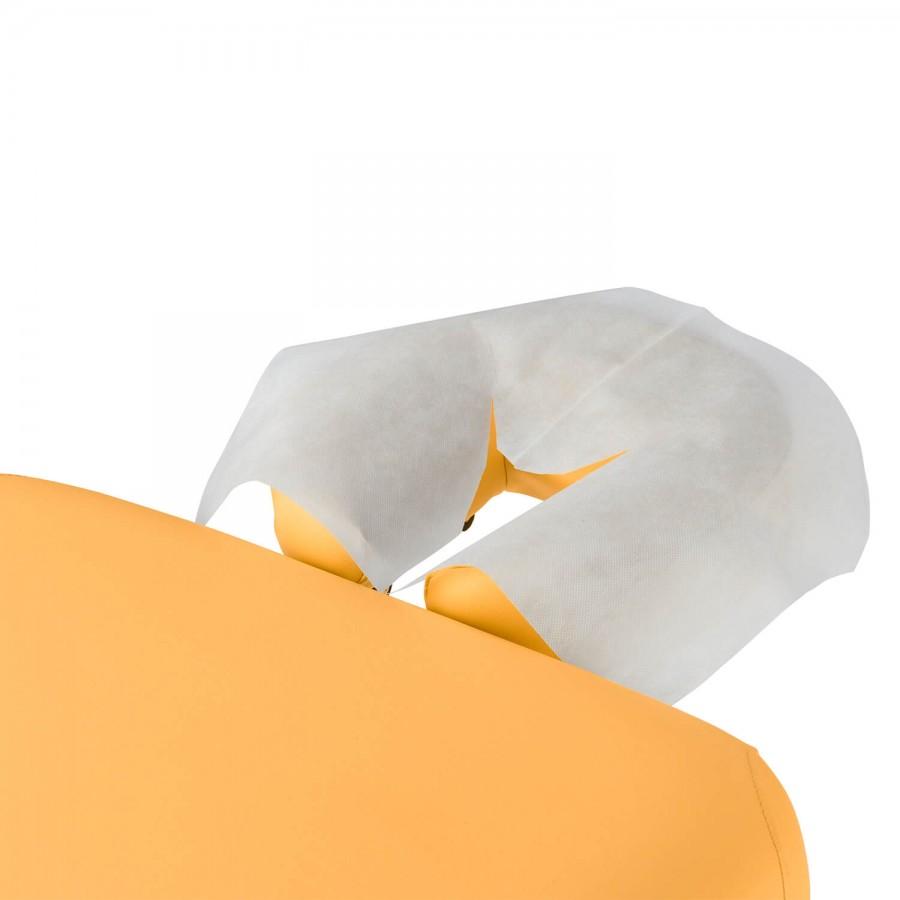 Nasenschlitztücher sind hygienisch und praktisch: Vliestücher von Clap Tzu - der optimale Kopfstützenbezug