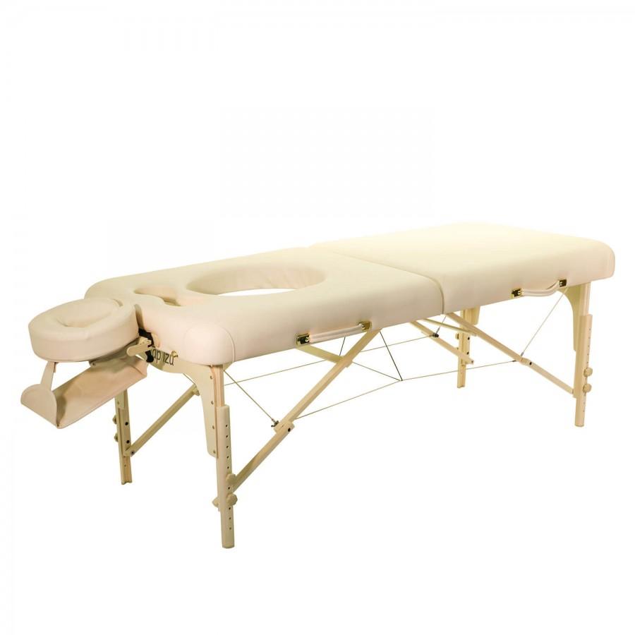 Mobile Massageliege CLASSIC Femina für Schwangerenmassage