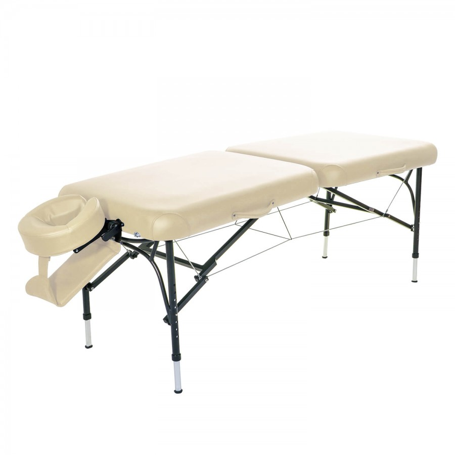 Mobile Massageliege CLASSIC Voyage Set | Farbe: crema (beige)