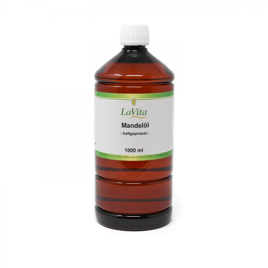 Mandelöl, kaltgepresst | 1 Liter