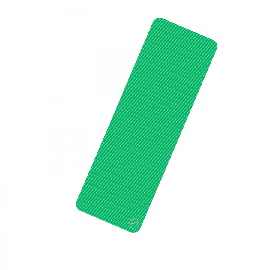 Übungsmatte ProfiGymMat Stärke: 10 mm | 180 x 60 cm | grün