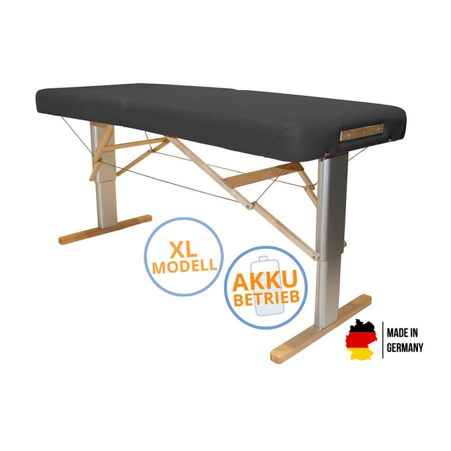 Mobile Massageliege LINEA Physio XL mit Akku