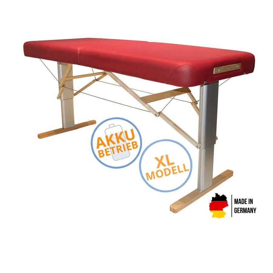 Mobile Massageliege LINEA Wellness XL mit Akku