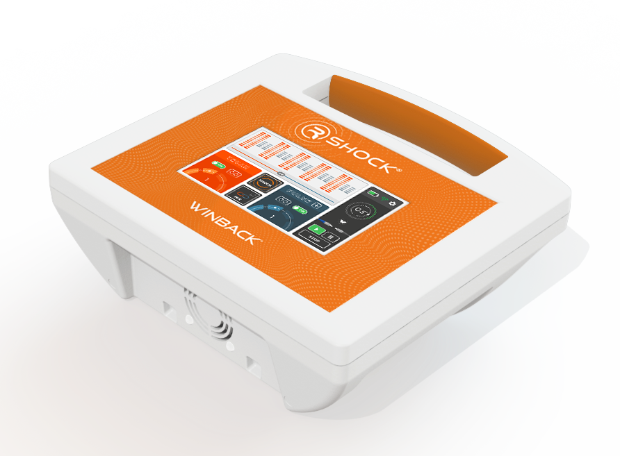 Anwendung WINBACK R-SHOCK mobiles Tecartherapiegerät