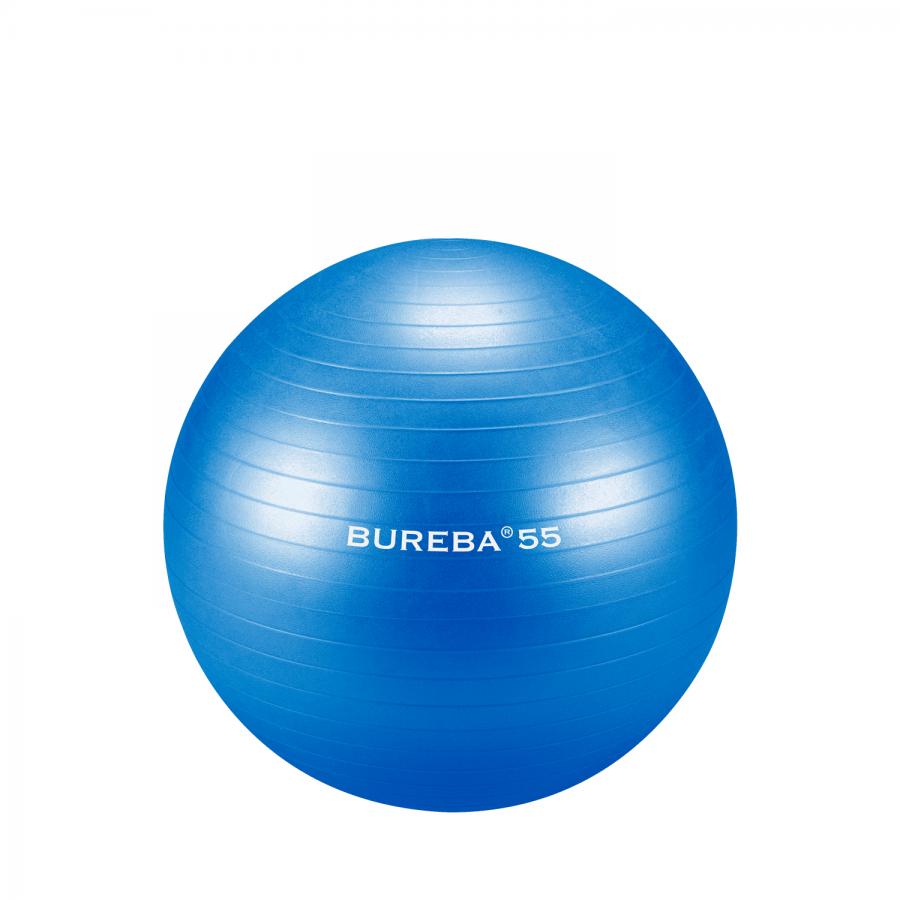 Fitnessball / Gymnastikball Trendy Bureba   Professionelle Qualität zum kleinen Preis - Größe: 55 cm, Farbe: blau