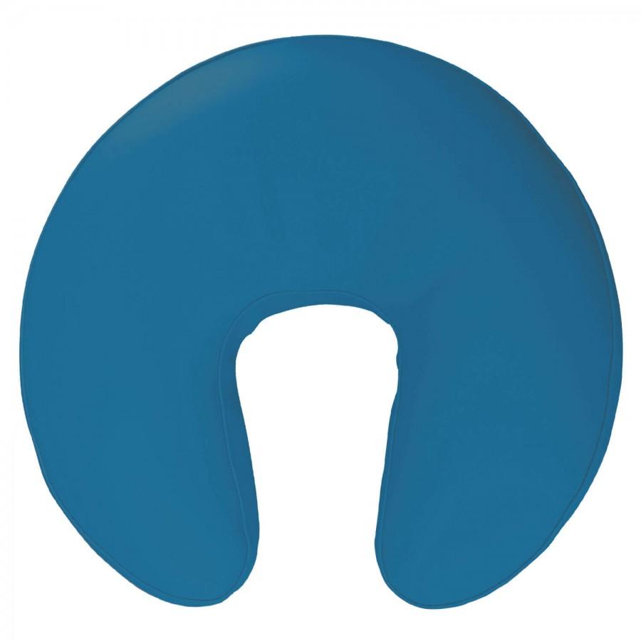 Polsterkragen / Gesichtskissen für Massageliegen: Farbe PISA-blau