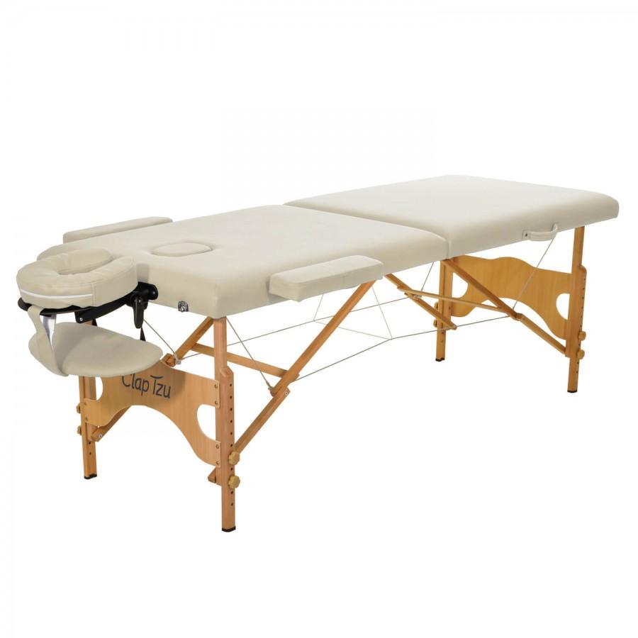 Mobile Massageliege Economy Comfort Set, crema (beige)