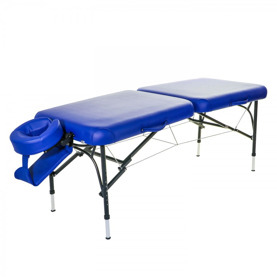 Mobile Massageliege CLASSIC Voyage Set | Farbe: marina (blau)