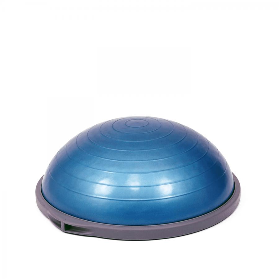 Der Klassiker für Balance-Training: Bosu Pro kann für verschiedene Schwierigkeitsstufen nutzen. Die Füllung bestimmt das Trainingslevel