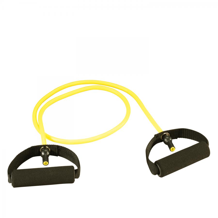 Übungsbänder: Trendy Gym Tube (gelb - light) | Clap Tzu